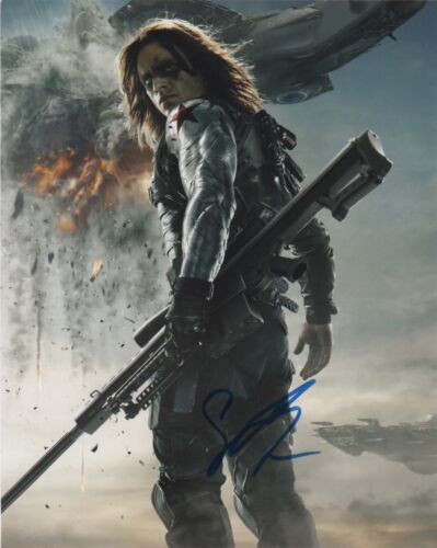 Sebastian Stan Captain America Civil War Autographed Signed 8x10 Photo COA #S4