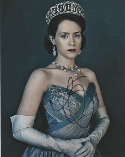 Claire Foy The Crown Autographed Signed 8x10 Photo COA #O7