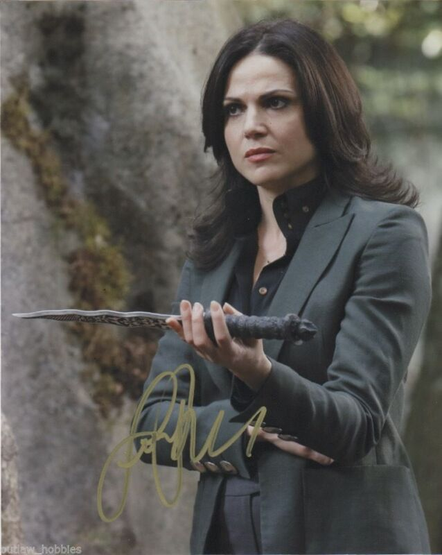 Lana Parrilla Once Upon A Time Autographed Signed 8x10 Photo COA #1