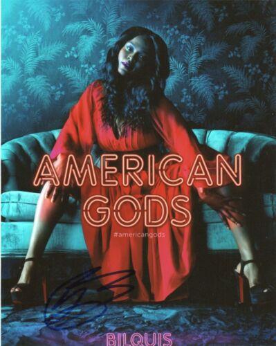Yetide Badaki American Gods Autographed Signed 8x10 Photo COA #A1