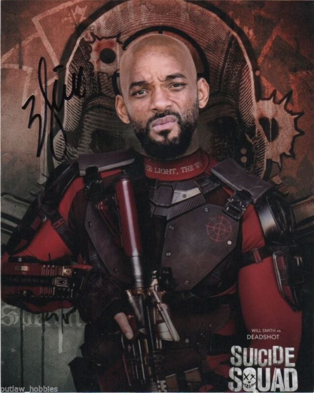 Will Smith Suicide Squad Autographed Signed 8x10 Photo COA #1