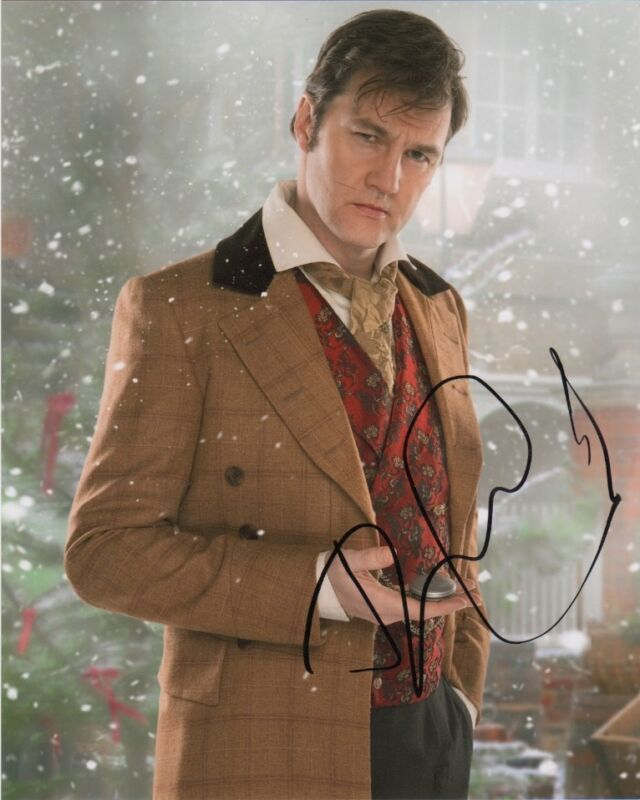 David Morrissey Doctor Who Autographed Signed 8x10 Photo COA B