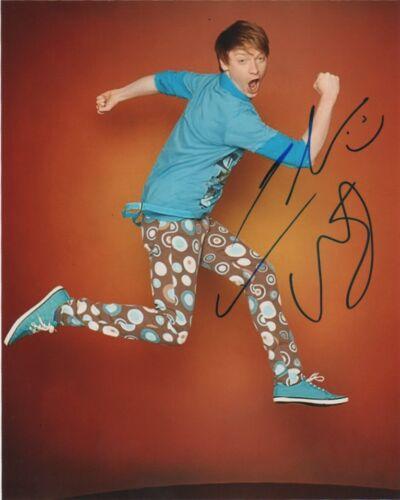 Calum Worthy Austin & Ally Autographed Signed 8x10 Photo COA #S4