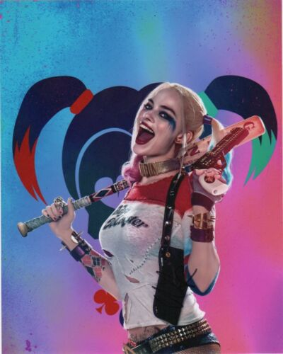 Margot Robbie Suicide Squad Autographed Signed 8x10 Photo COA #S19