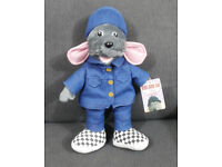 Talking Plush Roland Rat, Excellent Condition and Tagged