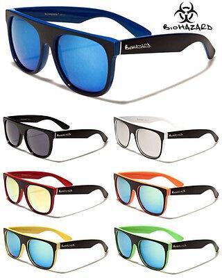 Biohazard Sunglasses Goggle Designer Glasses Mirror Lens Multi Color Shades Multi Lens Sunglasses
