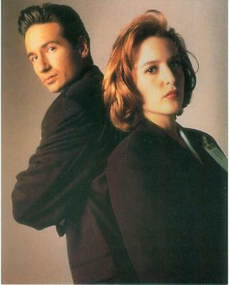 X-Files Poster Card # 266 (Fox Mulder & Dana Scully) (USA, 1995)