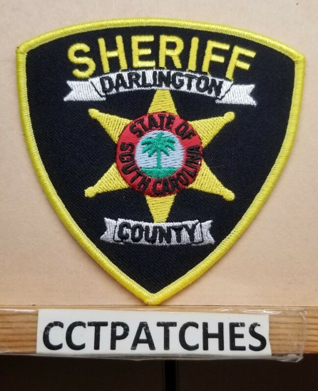 DARLINGTON COUNTY, SOUTH CAROLINA SHERIFF (POLICE) SHOULDER PATCH SC