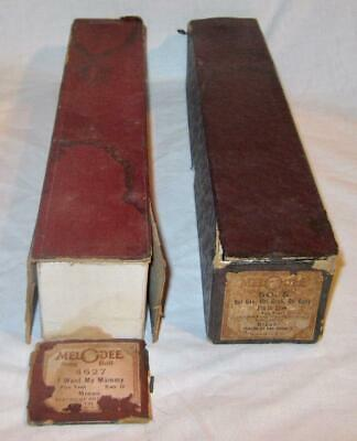 Photo 2 Melodee Antique Player Piano Rolls I Want My Mammy My Mothers Eyes 1900s (O)