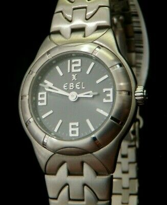 EBEL E Type Ladies Stainless Steel Watch E9157C11 MSRP $2310 ***BRAND NEW!!!*** Ebel Women Watches