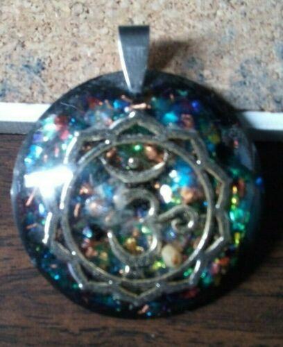 Orgone Pendant Experience Powerful Crystal Healing - Om