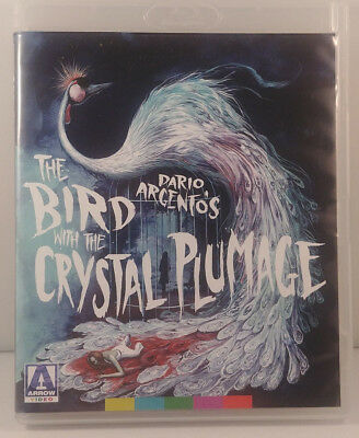 Dario Argento-THE BIRD WITH THE CRYSTAL PLUMAGE (1970)-Arrow Video-2018-Giallo!