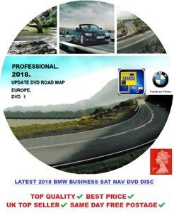 BMW 2018 PROFESSIONAL NAVIGATION MAPS SAT NAV DISC DVD E60 E70 E90 E92