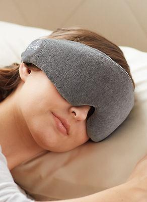 Bluetooth® Music & Phone Memory Foam Sleep Eye Mask & Shade