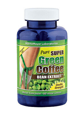 Pure Super Green Coffee Bean Extract Weight Loss Diet 800Mg Chlorogenic Acid