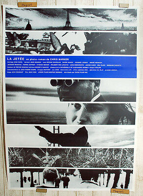 "FREE SHIPPING!! LA JETEE(1999)Chris Marker 40""x29"" Japanese Movie Poster"