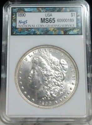 1890-P MORGAN DOLLAR  - Uncirculated Condition