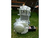 Full injected Yamaha ybr125 2007 engine
