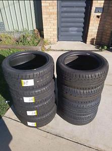 """18"""" Rims & Brand new Tyres 245/40/R18 DUNLOP sport Victoria Park Victoria Park Area Preview"""