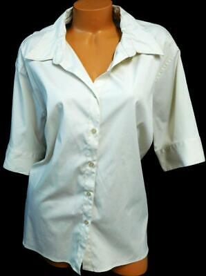 Dcc beige elbow sleeve side tie drawstring see through button down top 3X