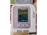 Contec Upper Arm Blood Pressure Monitor (plus heart rate & SpO2 reading)