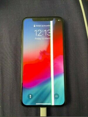 APPLE IPHONE X 64GB (UNLOCKED) **BARGAIN**