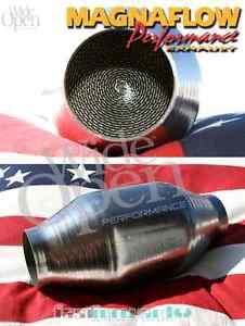 MagnaFlow Metall Rennkat Sportkat  200 Zeller Zellen 52-98 mm Sport Katalysator