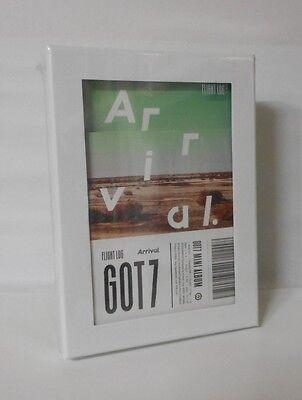 GOT7 Album [FLIGHT LOG : ARRIVAL] Ever Ver. CD+3ea Photobook Set+3p Photocard