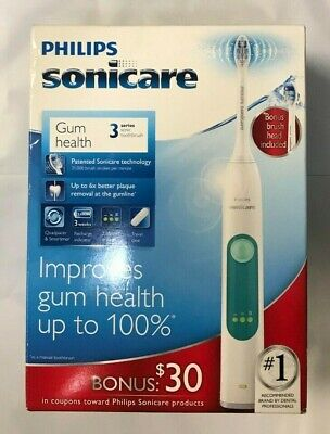 Philips Sonicare 3 Series Gum Health Sonic Electric Toothbrush HX6632/21
