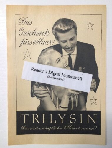 Werbeanzeige/advertisement A5: Trilysin Haartonicum 1957 (130616286)