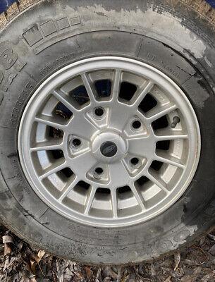 Rare Genuine Ford Transit MK1/MK2/MK3/MK4/MK5 RS Ronal Alloy Wheels X4