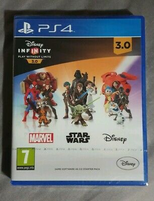 Disney Infinity 3.0 PS4 Playstation 4 Game Software Only