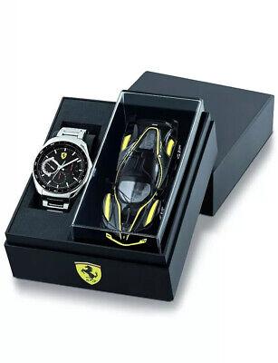Suderia Ferrari Men's Watch Special Edition Speedracer gift set with Car