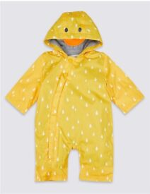 Marks and Spencer puddle suit 3-6 months
