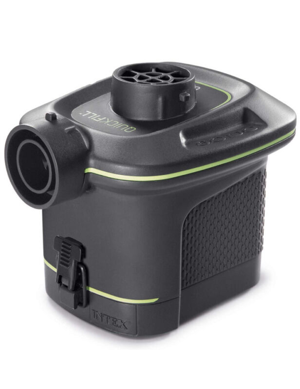 ✅ INTEX Quick-Fill Battery Operated Air Pump Portable - inflates and deflates