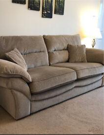 Oak furniture land 3 seater Chloe sofa (6 months old)