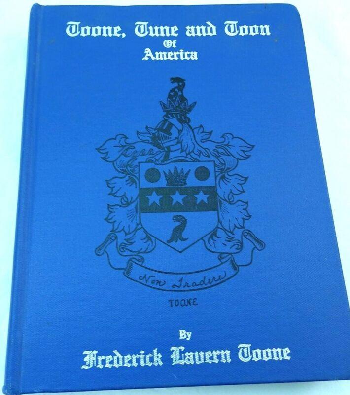 Toone, Tune & Toon of America: Genealogy. Virginia