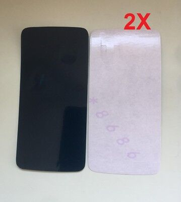 2X Genuine Pre-Cut Adhesive Glue Tape For Motorola Moto G5 Plus