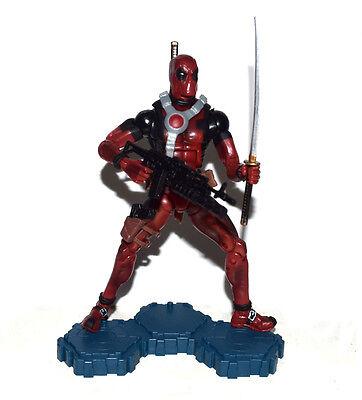 "Marvel Legends 6"" X-Men Deadpool Red Suit Loose Action Figure Weapons As Picture"