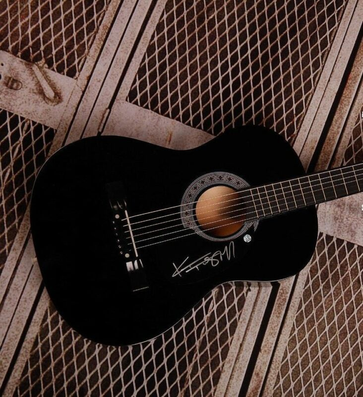 GFA Suddenly I See * KT TUNSTALL * Signed Acoustic Guitar AD2 PROOF COA
