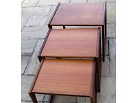 Vintage Quadrille Nest of Tables, G plan, Retro, Teak, Lounge