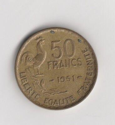 50 Francs Frankreich 1951   (2065)