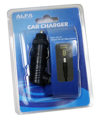 ACR-12 ACR-1201 R36 car power supply adapter 12v for Alfa R36 router & Camp Pro