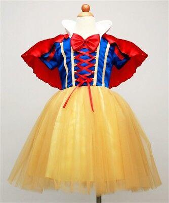 Schneewittchen Kostüm 3-tlg Prinzessin Karneval Fasching Verkleidung Gr. - Verkleidung Schneewittchen Kostüm