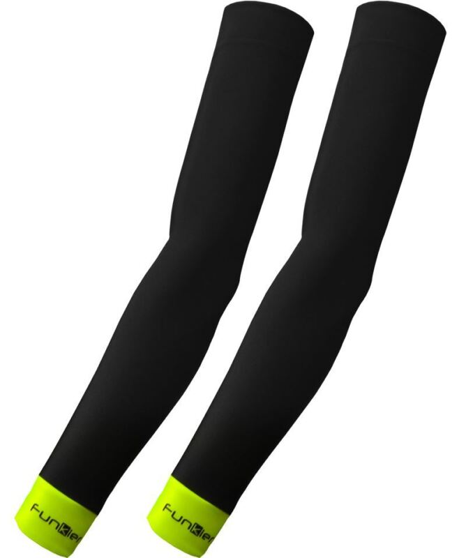 Cycling Arm Warmers Funkier Repel Thermal Protection Black SLV-658 Small
