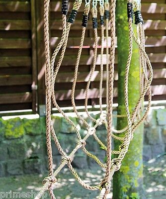 Seilbrücke Belastbar bis 100 kg reißfest ca. 235 x 150 x 75 cm wetterfest Neu