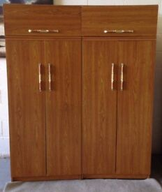 2 x double wardrobe can deliver