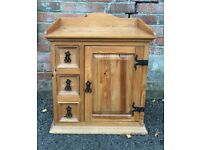 Mexician style pine cabinet