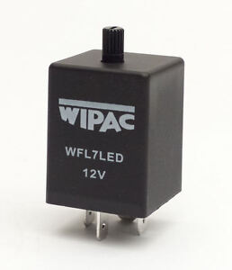 Ref: WFL7LED - Self-Adjusting 12 Volt Flasher Unit