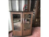 Music/Display Cabinet & Corner Display Cabinet